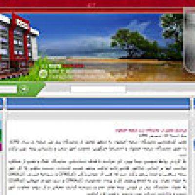 طراحی سایت شرکت بیمه نوین